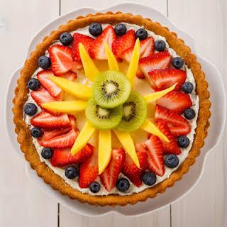 Spring Fruit Tart.