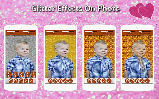 Glitter Effects On Photo