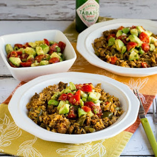 Slow Cooker Taco Bowl with Turkey and Brown Rice