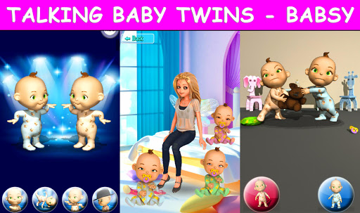 Talking Baby Twins