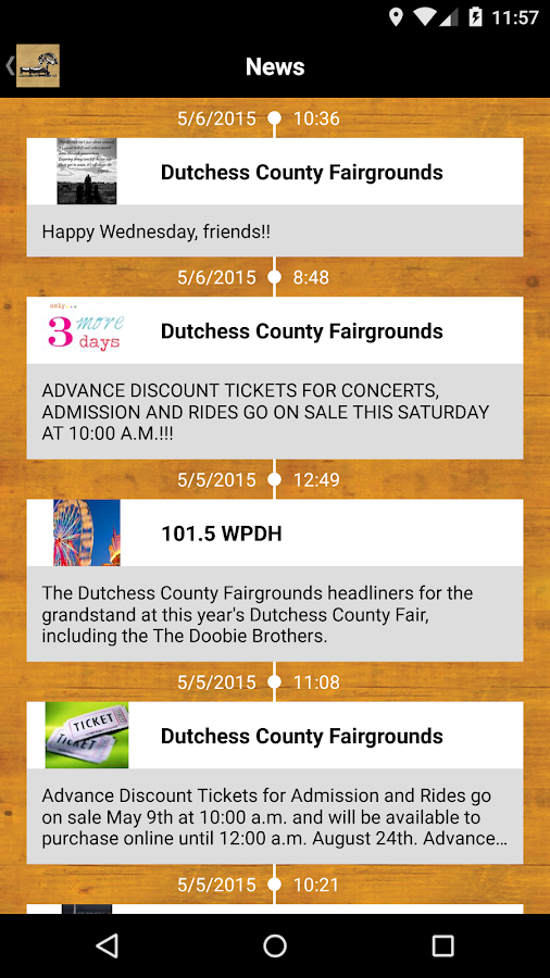 Dutchess County Fair 2015 - screenshot