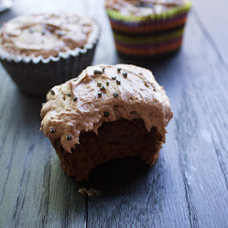 Chocolate Pumpkin Cupcakes Recipe