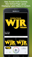 Screenshot of WJR-AM