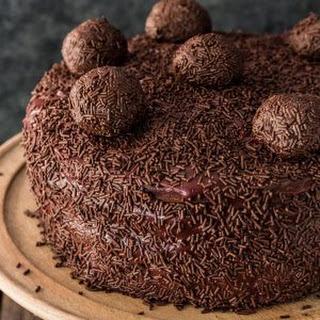 Brigadeiro Cake.