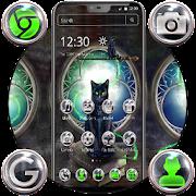موضوع القط الأسود الخطير APK