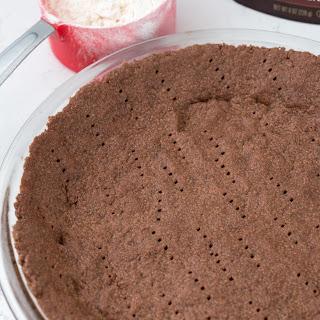 No Roll Chocolate Pie Crust