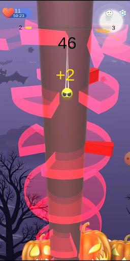 Orange Helix Jump - Tower Helix Crush 1 screenshots 1
