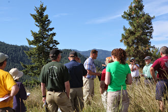 Photo: Stop 1 - View of Wenatchee River valley from Beecher Hill