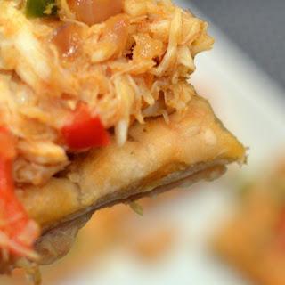 Open-Faced Crab Empanadas