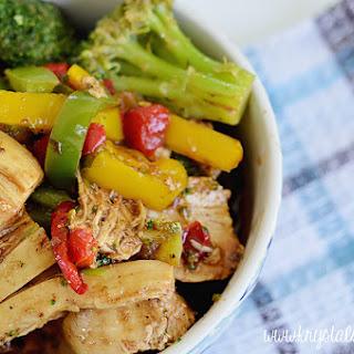 Malaysian Black Pepper Chicken Stir Fry