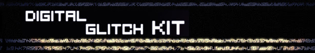 Glitch kit - Trailer. Slideshow. Logo Opener.