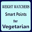 Weight Watchers Smart Points for Vegetarian