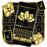 Black Gold Business Keyboard Theme Icon