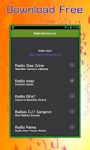 Radio Bosnia Live - náhled