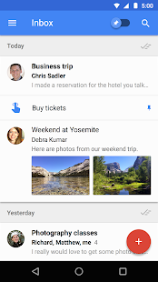 Inbox by Gmail- screenshot thumbnail