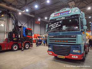 Photo: trucks eindejaarsfestijn brabanthallen holland niederlande nl 's-hertogenbosch den bosch truckseindejaarsfestijn brabant eindhoven limburg daf mercedes volvo scania trucking man renault truck-pics.eu