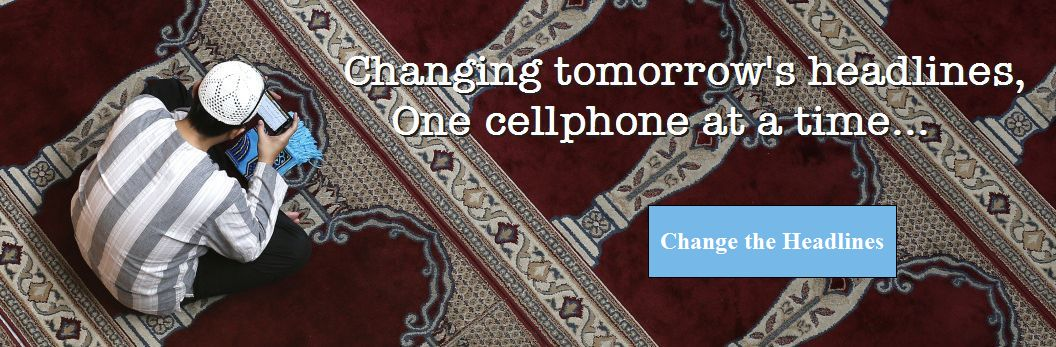 Changing tomorrow's headlines, one cellphone at a time...