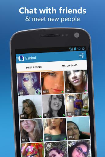 Meet People and Chat: Eskimi 5.6.7 screenshots 2