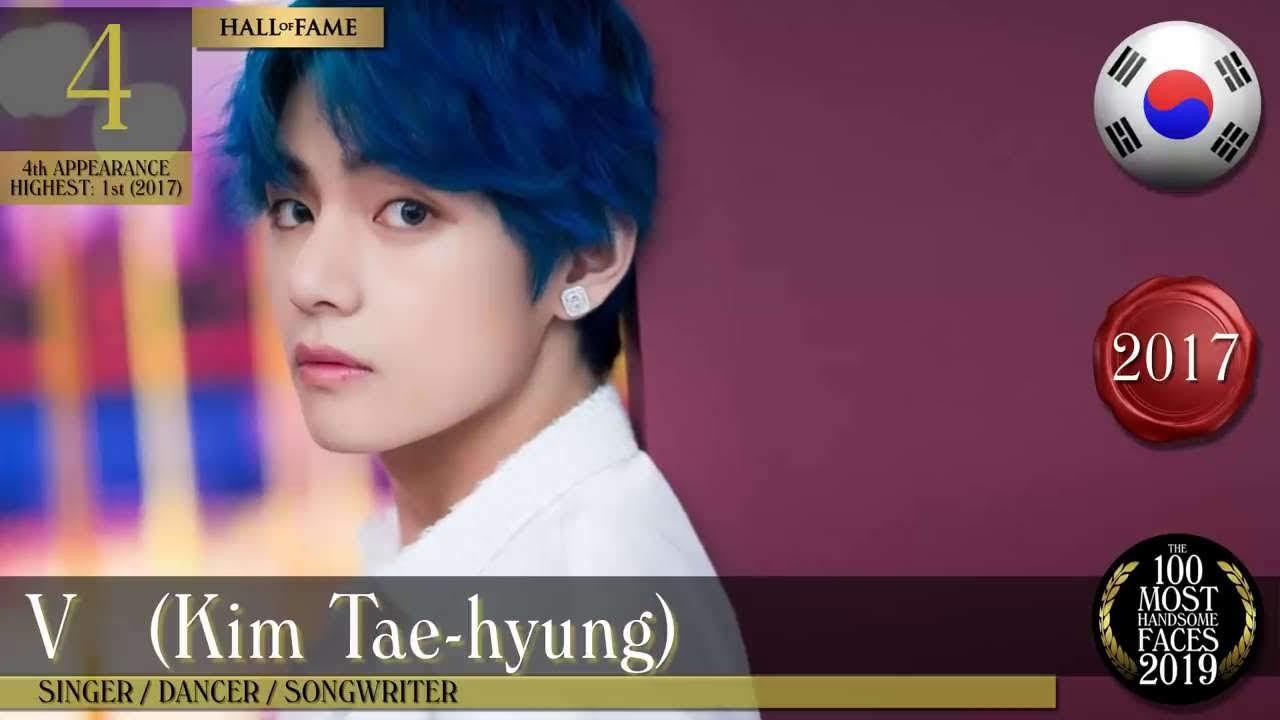 BTS V the Most Handsome Face 2019