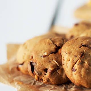 Chocolate, Honeycomb and Roast Almond Cookies.