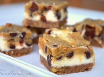 Cookie Dough Cheesecake Bars Recipe