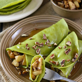Matcha & Banana Protein Crepes Recipe