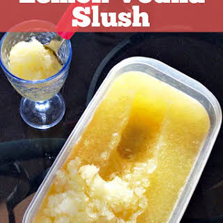 Lemon Vodka Slush.