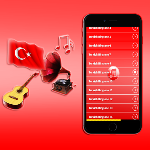android Turkish Ringtones 2016 Screenshot 8