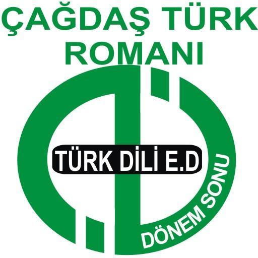 AÖF DÖNEMSONU ÇĞDŞ TÜRK ROMANI