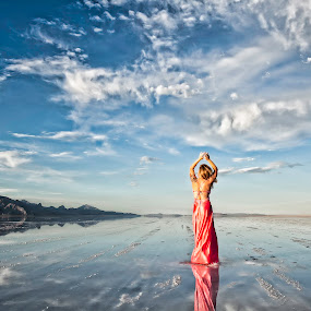 Blowing Sky by Scott Myler - People Portraits of Women