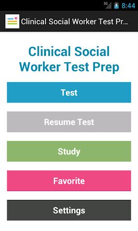 ASWB® LCSW Test Prep Screenshot