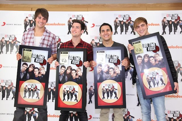 Photo: Gold record plaque presentation in Mexico!