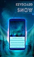 Screenshot of Snow Keyboard
