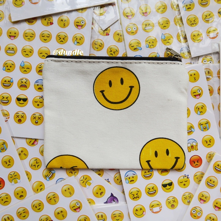 Smiley Face Pouch