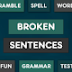 Broken Sentences PRO icon