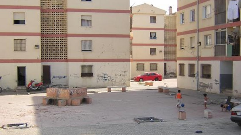Vista panorámica de el barrio El Puche