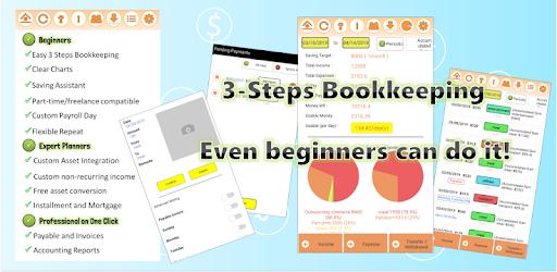 Easy 3-steps Bookkeeping
