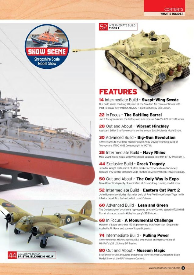 Airfix Model World Magazine- screenshot