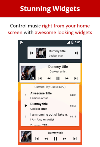 Musicolet Music Player [Free, No ads] screenshots 7