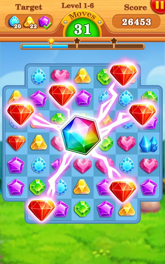 Jewels Star Legend- screenshot