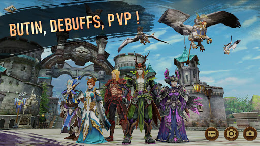 Era of Legends - World of dragon magic in MMORPG  captures d'écran 1