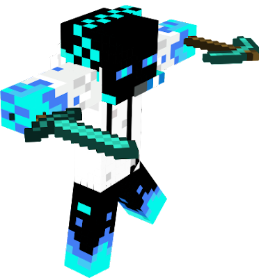 This enderman has special water and ice habilities to slowdown and freeze his enemies. Attention! He loves diamond!