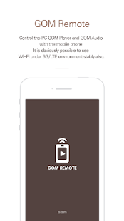 GOM Remote - Remote Controller- screenshot thumbnail