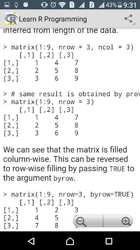 Learn R programming Pro - FULL screenshot 5