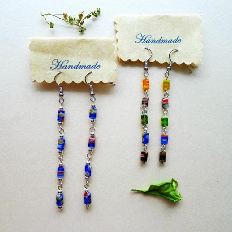 Boho Style Dangle Earrings by Heavenly Gems