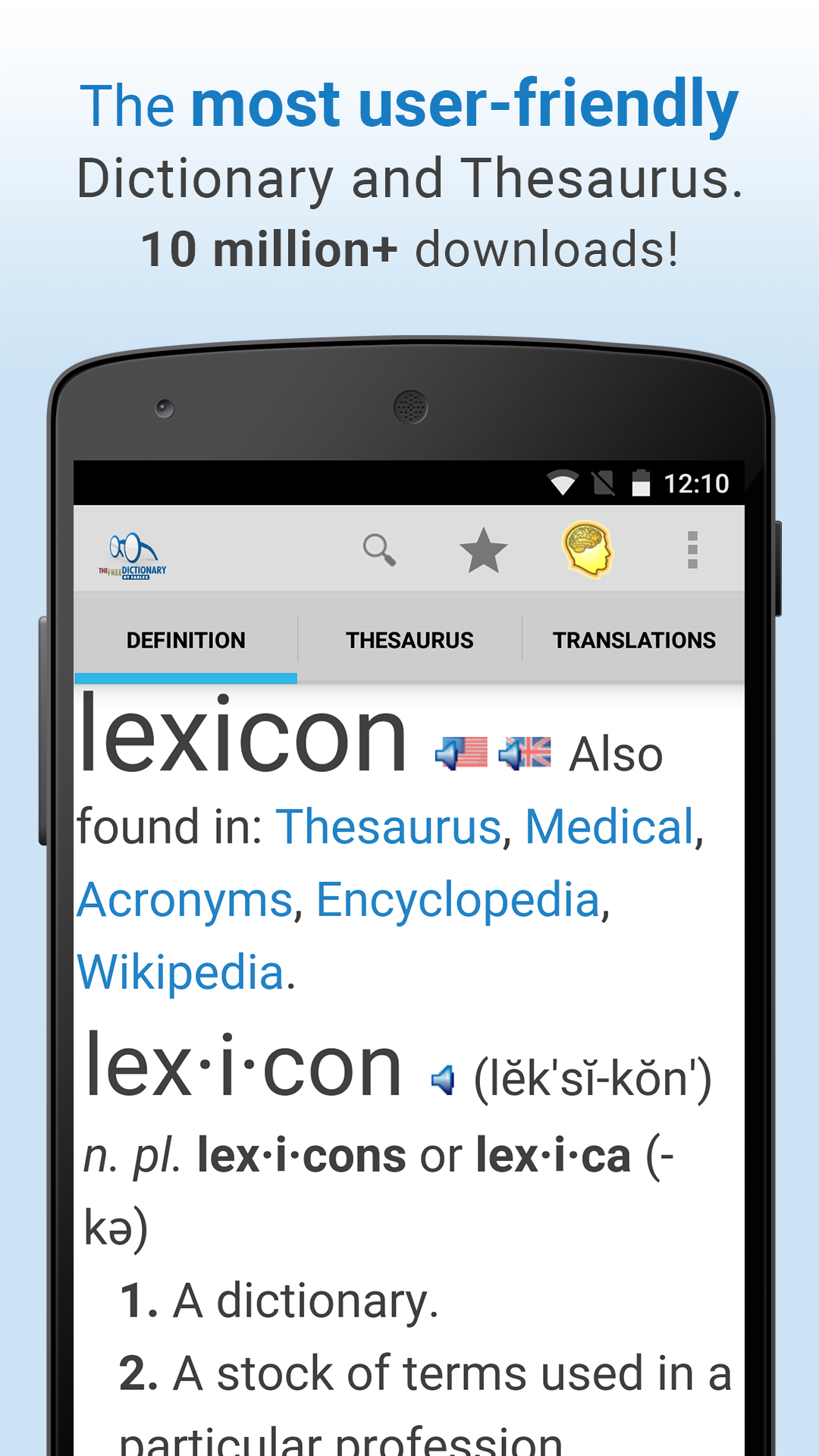Dictionary screenshot #5