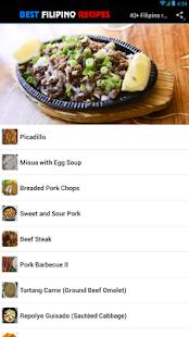 40 filipino recipes food apps on google play screenshot image forumfinder Gallery