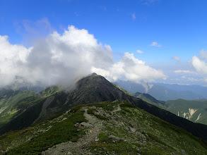 中岳へ戻る