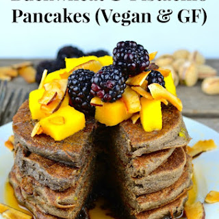 Buckwheat & Pistachio Pancakes (Vegan & Gluten Free) Recipe