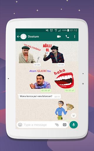 Azerbaijan Stickers for WhatsApp - WAStickerApps 12.2.06 screenshots 14